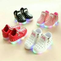 sepatu led anak murah sepatu bayi led sepatu lampu murah-swarosky