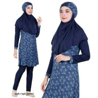 Jual Baju Renang Muslimah Syari 269st Biru S M L XL Murah