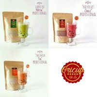 Jual Bubuk Powder Green Tea Matcha / Thai Milk Tea / Red Velvet (250gr) Murah