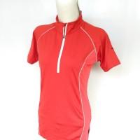 Kaos Baju BodyFit Olahraga Branded Salewa Original Casual Cewek Wanita