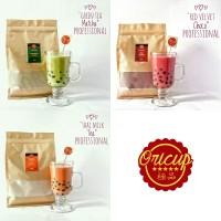 Bubuk Powder Green Tea Matcha / Thai Milk Tea / Red Velvet Choco (500)