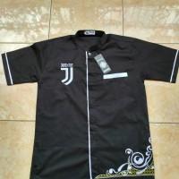 Jual Baju Koko Bola Juventus -Hitam  Murah