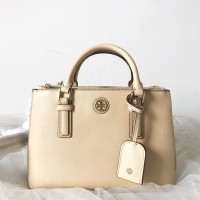d9c083778b33 Tas Tory Burch Original - Tb micro double zip toastedwheat french gray