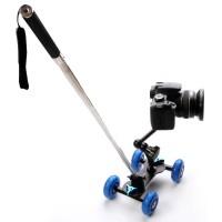 Dolly Slider Kamera DSLR SLR HP Video Vlog Tripod Monopod Stabilizer