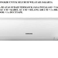 PROMO AC SAMSUNG 1/2 PK AR-05KRFLAWKN (FREON R-410A, 400 WATT)