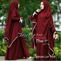 New Gamis / Baju / Pakaian Wanita Muslim Elsa Syari
