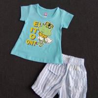 Kaos Setelan Anak Perempuan 2-4 Tahun. Size 1-2-3 HARGA GROSIR. STC40