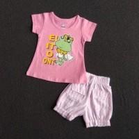 Kaos Setelan Bayi Perempuan 6-12 bulan HARGA GROSIR. STC40