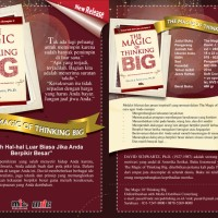 Buku The Magic of Thinking Big. David J. Schwartz, PH.D Limited