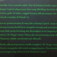 Jual Buku The Hunger Games. suzanne Collins. Gramedia Berkualitas Murah