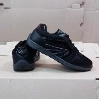 PROMO Sepatu anak sekolah warna hitam polos pria dan wanita|| merk
