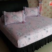 SORAYA Bedsheet - Sprei Karet Jolly Pink