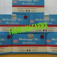 Methycobal 500 mg (Mecobalamin) Isi 100 Kapsul/ Box