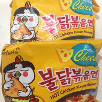 Jual Samyang Cheese Buldak Hot Chicken Ramen Cheese Flavor Instant Mie Kore Murah