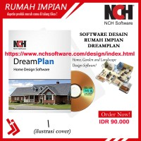 Software bangunan rancangan membuat desain rumah dengan dreamplan NCH