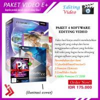 Software Paket Video Editing Premiere Elements cyberlink powerdirector