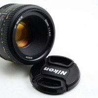 Jual Nikon Lensa Af 50Mm F/1.8D Af 50 Mm 1.8 D + Free Uv Filter & Lens
