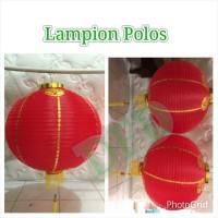 Jual Lampion Imlek / Lampion Polos Isi :2 ( Ukuran 22 In) Murah