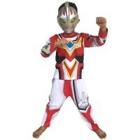 Jual TERLARIS!! Baju Anak Kostum Topeng Superhero Ultraman Go Murah
