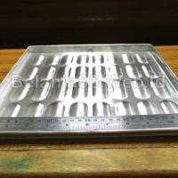 Jual (Diskon) 1 Pcs Loyang Aluminium Kue Lidah Kucing 32 (Besar) Murah