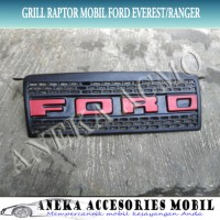 Dijual Grill Grille Raptor Variasi Fiber Mobil Ford Ranger 2 CI-60K