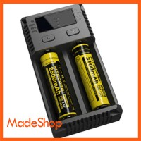 Jual Battery Charger Baterai Nitecore i2 2 Slot for Li-ion and NiMH Murah