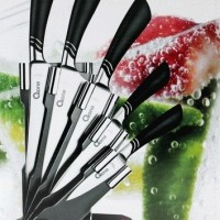 Oxone Master Chef Pisau ox-981, Butterfly Knife with Rack Set (1 Set