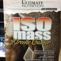 Promo iso mass isomass xtreme extreme gainer 1 lbs serious carnivor m