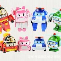 Jual Mainan anak Robocar Poli 1 set (isi 4) Robot Mobil Hadiah ulang tahun Murah