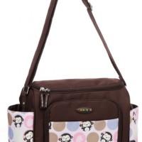 Colorland Diaper Sling Bag (Monkey Pastel)