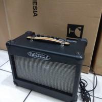 Amplyfire Sound System Gitar Bass Threeal Ori 6Inc Distorsi