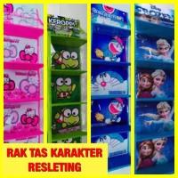 Rak Tas GANTUNG Karakter - Hanging Bag Organizer Murah Surabaya