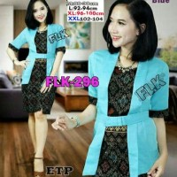 SB Collection Stelan Atasan Kebaya Zaina Blouse Dan Rok Span Batik