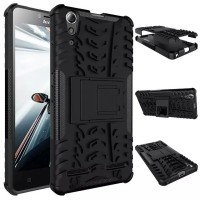 Lenovo A6000 / A 6000 plus Rugged Armor stand mode hard soft case
