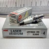 1set Busi NGK Laser Iridium IZFR6K - 11S (harga 4pc) Limited