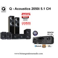 Q Acoustics 2050i Cinema Package + Denon AVR X1300