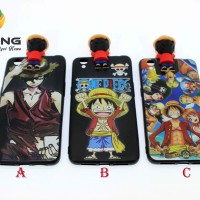 JELLY 3D GAMBAR ONE PIECE LUFFY OPPO NEO 9/A37
