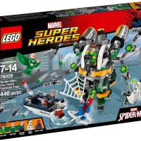 LEGO SUPERHEROES 76059 : SpiderMan Doc Oct Tentacle Trap