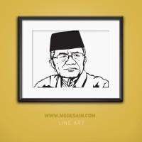 Ubah Foto Jadi Desain Line Art Unik Untuk Hadiah/Souvenir/Mahar