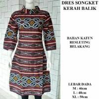 Jual Dres Batik Songket Murah