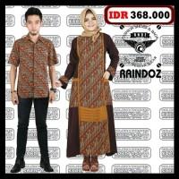 Sarimbit baju couple seragam keluarga batik baju muslim sarimbit