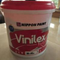 cat tembok vinilex putih (1kg) nippon paint exterior & interior