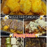 Jual Pisang Kriuk /Nugget BANANAZ toping greentea /tiramisu /chocomaltine Murah