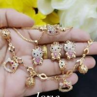 Jual Set perhiasan xuping anak Murah
