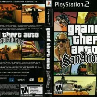 "KASET PS 2 OPTIK ""GTA SAN ANDREAS INDONESIA ""/ KASET PS2/ KASET PS"