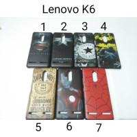 Hardcase Karakter For Lenovo K6 Power back case Hard Case