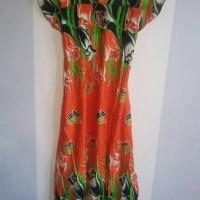Jual Daster batik murah bunga Tulip Murah