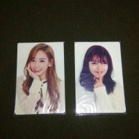 Jual SNSD (Girls' Generation) Goods - Season Greeting photocard Sooyoung Murah