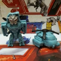 Transformers The Last Knight Tiny Turbo Changers Decepticon Blackout