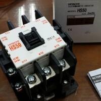 Kontaktor / Contactor Hitachi HS50 110V 220V 380V AC Coil